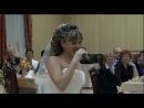 невеста поет песню для жениха